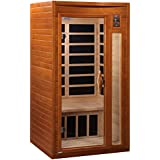 DYNAMIC SAUNAS AMZ-DYN-6106-01 Barcelona 1 to 2-Person Far Infrared Sauna