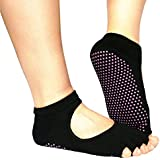 Malloom® 5-Toe Exercise Yoga Gym Non Slip Massage Toe Socks With Full Grip