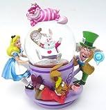 Disney Alice Tea Party Snowglobe