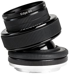 Lensbaby Composer Pro with Edge 80 Optic for Canon DSLR Cameras