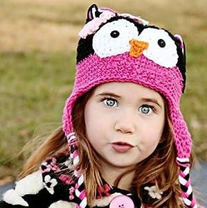 Cute Baby Girl Boy Crochet Hat Cute Baby Girl And Boy