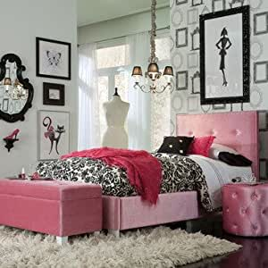 Standard Furniture Young Parisian 3 Piece Kids 39 Bedroom Set In Pink Childrens