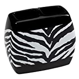 Creative Bath Products Zebra Toothbrush Holder