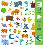 Djeco Animal Stickers (160 pc)