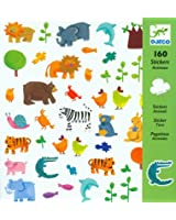 160 Djeco - Stickers - Animaux