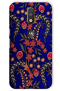 IndiaRangDe Hard Back Cover FOR Motorola Moto G Plus 4th Generation Moto G4 Plus