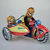 O06 Motorcycle and Sidecar ORNAMENT Christmas Tree