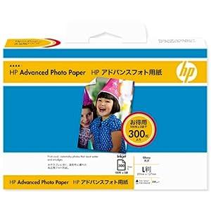 ヒューレット・パッカード アドバンスフォト用紙(光沢)L判300枚 SD700A