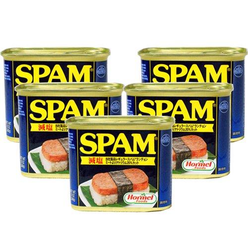 減塩スパムランチョンミート 5缶セット