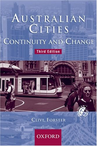Australian Cities: Continuity and Change (Meridian)