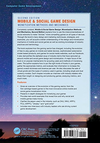 Mobile & Social Game Design: Monetization Methods and Mechanics, Second Edition