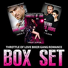 Throttle of Love Biker Gang Romance Box Set (       UNABRIDGED) by Jodie Sloan Narrated by Charm