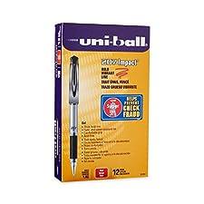 UNI-Ball Pen in Gel impatto grassetto punto Open Stock-rosso
