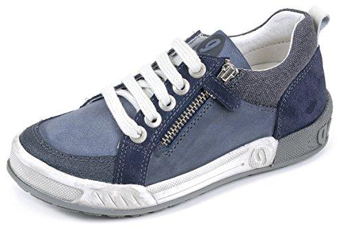 Garvalin 152580, Low-Top Sneaker bambino, Blu (Blau (A-AZUL MARINO (TALCO Y SERRAJE))), 28