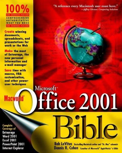 Macworld Microsoft Office 2001 Bible