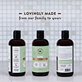 Argan Oil Dog Shampoo and Conditioner - Healthy Shiny Coat - With Geranium, Chamomile - Best Natural Pet Wash for Your Dogs Bath - Vet Recommended Conditioning Formulafor Professional Groomers