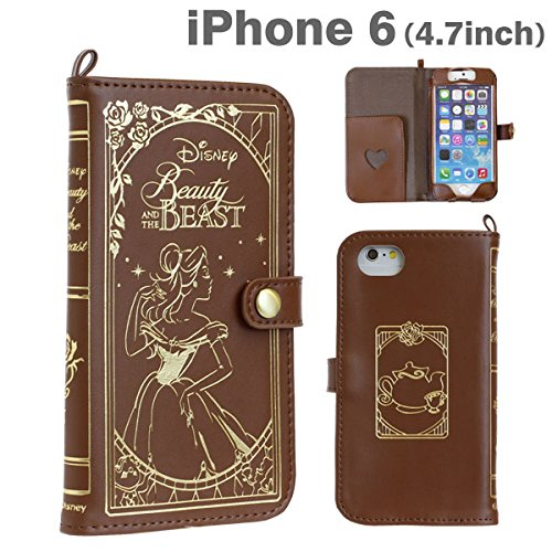Old Book Phone Case : Disney iphone leather old book case beauty and the