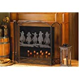 Image Result For Ll Home Metal Star Fireplace Screen