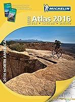 Michelin 2016 Large Format Atlas North America US Canada Mex
