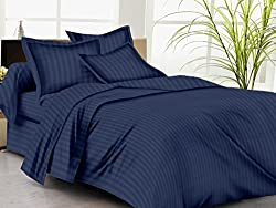 Trance Duvet Cover Single with 1 pillow cover Navy Blue