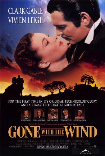 1998 Gone With The Wind 27 x 40 inches Style A Movie Poster
