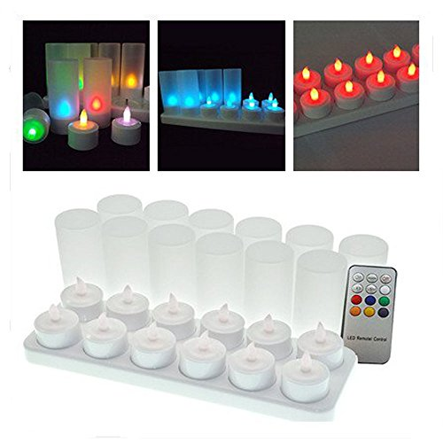 Winterworm 174 Set Of 12 Color Changing Rechargeable