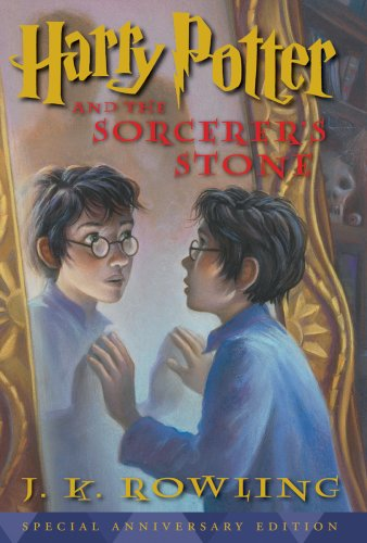 Cover of Harry Potter and the Sorcerer's Stone, 10th Anniversary Edition