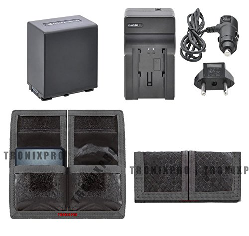 Np-Fv100 Rechargeable Battery + Car / Home Charger + Battery Pouch For Sony Dcr-Sx85, Dcr-Sx85/S, Dcr-Sx85E, Digital Recording Binoculars Dev-3, Digital , Dev-5, Handycam Nex-Vg10, Nex-Vg20, Nex-Vg20H, Nex-Vg900, Hdr-Cx110, Hdrcx110 &More Camera