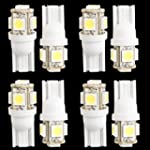 8 T10 168 194 W5W Car White 5 LED 505...
