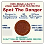 Carbon Monoxide (CO) Detector Visual...
