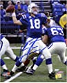 "Peyton Manning Indianapolis Colts Autographed 8"" x 10"" vs San Francisco 49ers Photograph - Fanatics Authentic Certified"