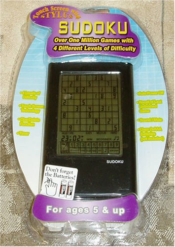 Cheap East West Distributing Touch Screen Stylus Sudoku with 4 Levels of Difficulty – Over 1 Million Games (B000RODWLS)