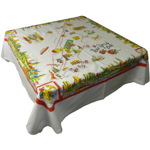 New York City Cotton Tablecloth