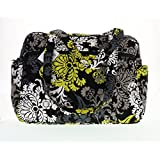 Vera Bradley Baby Bag (Baroque with Solid Black Interior)