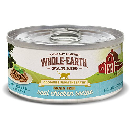 Whole Earth Farms Grain Free Real Chicken Recipe (Morsels In Gravy)