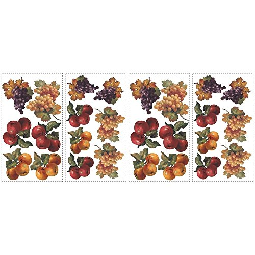 fruit-harvest-wall-stickers-26-colorful-decals-apples-grapes-kitchen-decor-best-offer