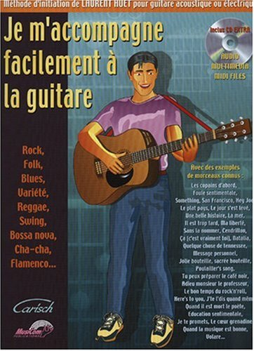 Je m'accompagne facilement à la guitare + 1 CD - Carisch