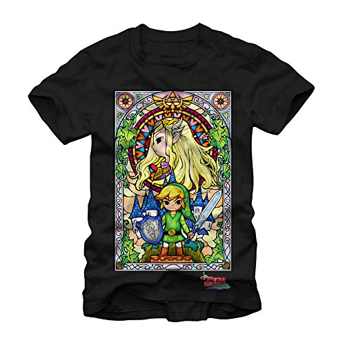 Legend of Zelda: The Wind Waker Stained Glass T-shirt