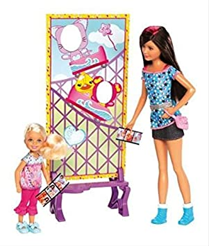 Barbie Sisters Fun Photos Chelsea and Skipper Doll (2-Pack) by Barbie (English Manual)