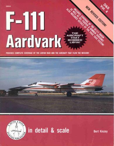 F-111 Aardvark in detail & scale Vol 04