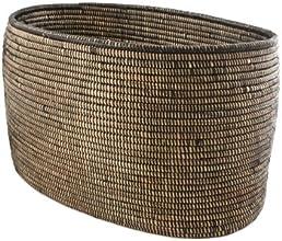 Woven Storage Basket - Black