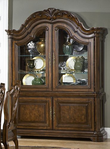 Picture of A.R.T. Furniture China Cabinet - Medium Cherry (74242-2106R) (74242-2106R) (China Cabinets)