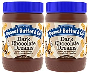 Peanut Butter Dark Chocolate Dreams, 16 Ounce (Pack of 2)