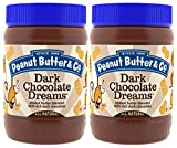 Peanut Butter & Co. Peanut Butter, Dark Chocolate Dreams, 16 Ounce Jars (Pack of 2)