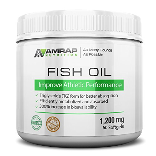 Triglyceride (TG) Fish Oil | AMRAP Nutrition - Wild Caught & Cold Processed