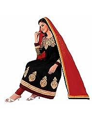 Ashika Printed Bollywood Designer Salwar Suit Dupatta (Unstitched) Dress Material (8539)