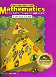 img - for MATHEMATICS The Path To Math Succrss! TEACHER GUIDE GRADE 5 VOLUME 2, MILLENNIUM EDITION 2001 SILVER book / textbook / text book