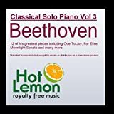 Classical Solo Piano Vol. 3, Beethoven