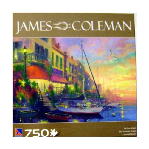 "JAMES COLEMAN ""HARBOUR LIGHTS"" 750 Piece PUZZLE"