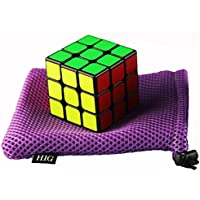 Hig Rubiks Cube Is An Interesting Puzzle Cube 3 X 3 Speed Cube(Black)